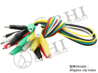 Battery clip test leads, Alligator clips cable test leads . crocodile clips with wire