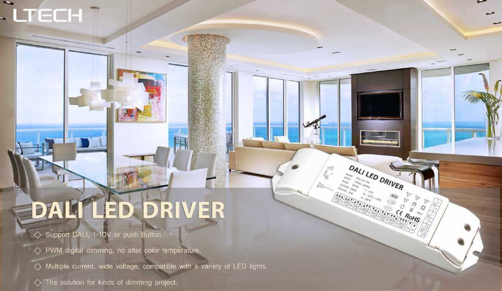 LTECH Newest dali dimming driver