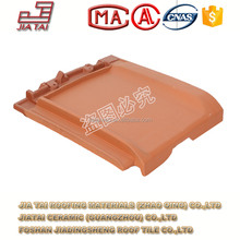 FT-5Y12 fashion architectural plain flat clay roofing tiles