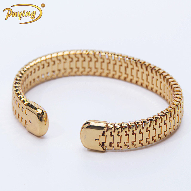 Cheap india 18k gold plated chunky snake chain bracelet