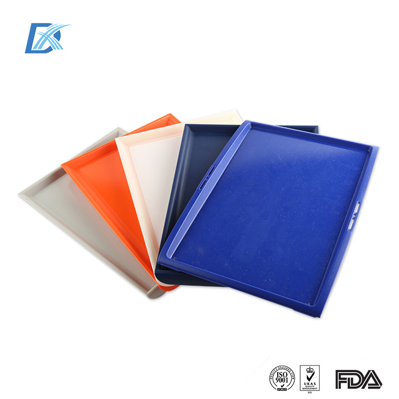 Wholesale Inflight Airline Plastic Rectangular ABS Non Slip Serving Tray