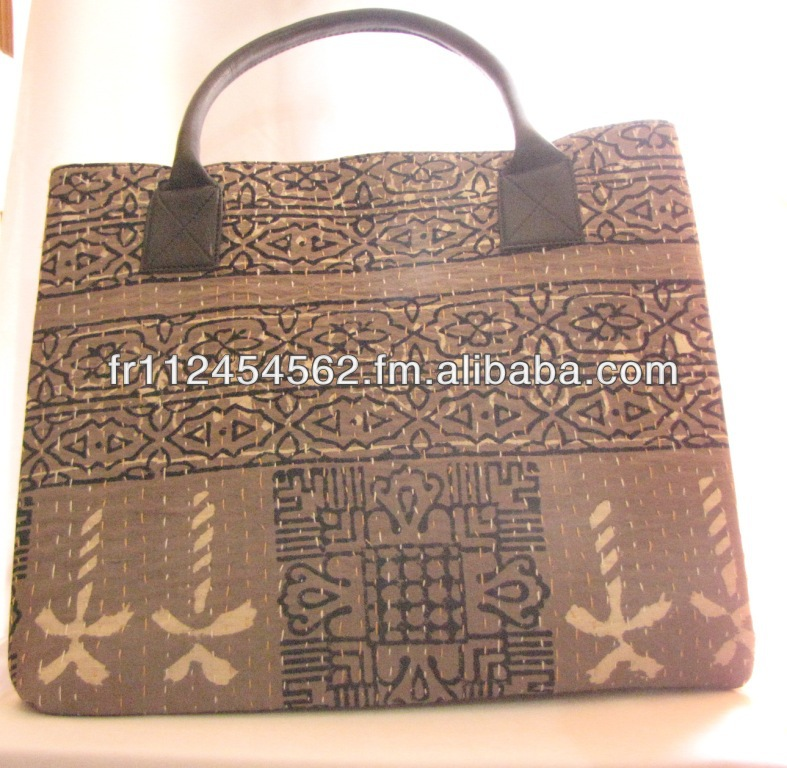 Kantha Cotton bags