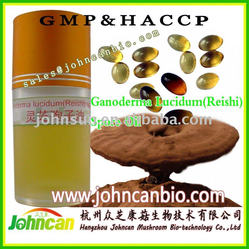 Reishi spore oil softgel of high grade