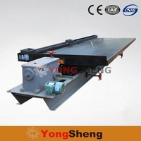 mineral separation equipment vibration shaker table for diamonds