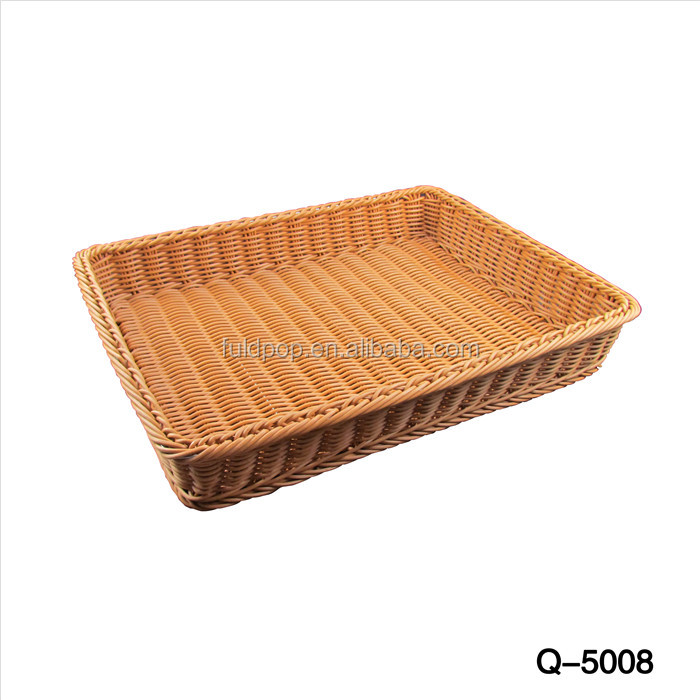 Q-5008 Oem Service supermarket reusable fruit baskets