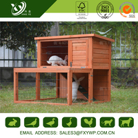 2017 Keep Warm Shockproof Wooden Rabbit House For Sale