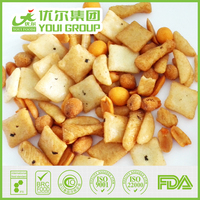 Chilli Flavor Rice Crackers and Coated Peanuts Mix 5a