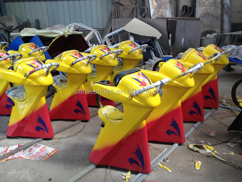 Good Quality Used Park Amusement Rides 24 Seats UFO Flying Rides for sale