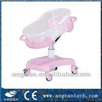 AG-CB011 ABS head and height adjustable car shape bed
