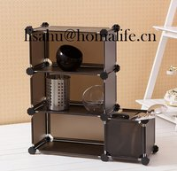 High mesh storage bins for cosmetics