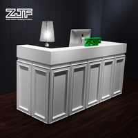 ZJF Good sale clothing shop cash counter new design