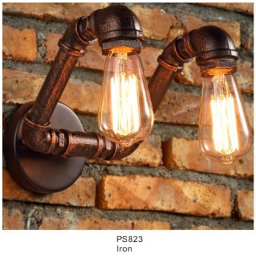New Machine Age Pipe Led Pendant Lamp With Vintage Industry Style