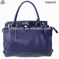 Purple guangzhou factory oe leather handbags