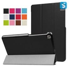 PU Leather Flip Tablet Cover Tri Fold Foldable Case for LG G Pad 4 8 P530