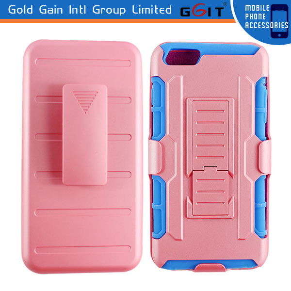 PC Case for iPhone 6 plus Silicon Robot Case