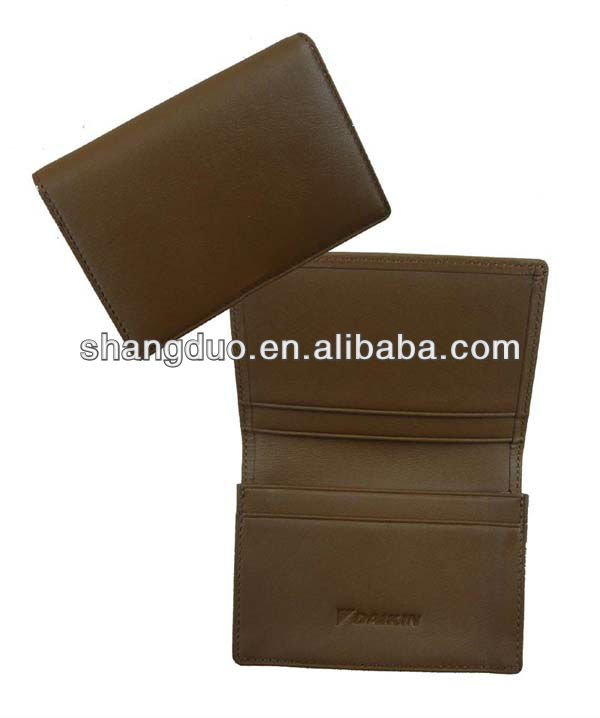 leather card holders smart name card case