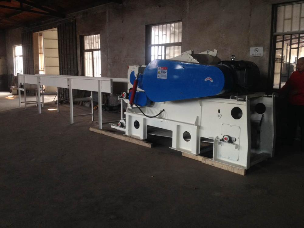 Hotsale Drum Wood Chipper Used in Wood Pellet Plant