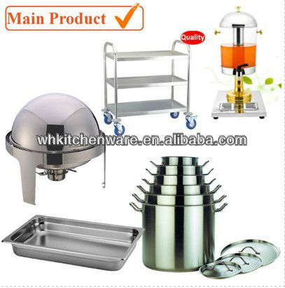chafer, cookware, gn pan, trolley...stainless steel kitchenware for restaurant