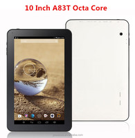 10 inch AllWinner A83T Octa Core Android 5.1 Tablet PC Google Play Store 4K Video