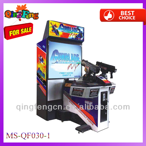 At discount for Spring fair MS-QF030-1 cheapest indoor video shooting simulator games