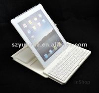 ABS Plastic Bluetooth Keyboard Cases for iPad4/New iPad/iPad2