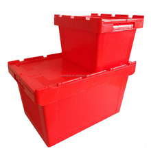 Heavy Duty 50kgs Storage Moving Plastic Utility Boxes