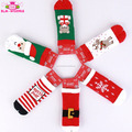 Wholesale Infant Toddler Unisex Boys Girls Xmas Gift Stocking Knit Warmer Christmas Baby Non Slip Floor Socks