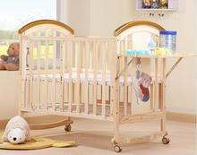 Storage rack custom made baby wooden bed baby swinging crib/beside bed baby swing