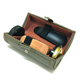 Care Kit Shine Shoes Box Wood Customized Leather Storage Case Oem Instant Polisher Gift Cleaning Professional Shoe Polish Set
