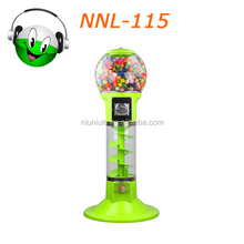 Whosale and retail vending gashapon /toy /gumball machines NNL-115