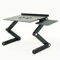 Rolling and Revolve Laptop Stand
