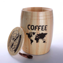 Wholesale Handcrafted Solid Wood Coffee Barrels