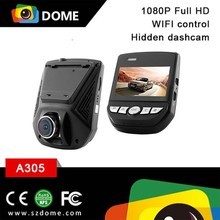 New model A305 dashcam car camcorder with WIFI function ,2.45 inch LCD display hidden car dash cam G-sensor CE ROHS