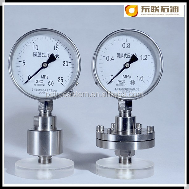 oil field used industrial measuring instruments