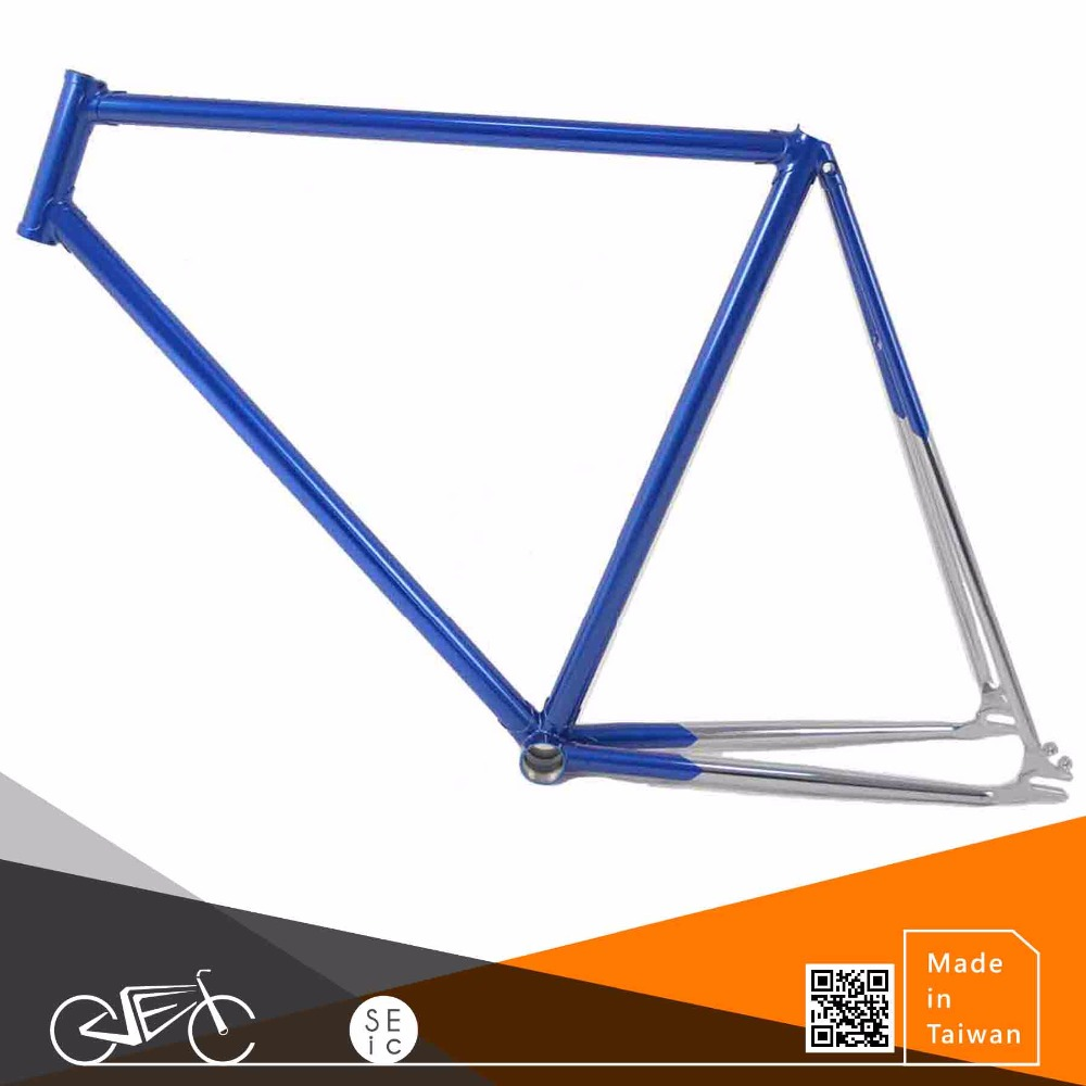 Taiwan made bike LUGGED frame Columbus Chrome bicycle frame
