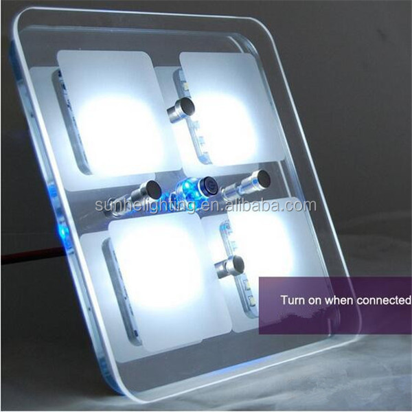 High Quality White Car Interior LED Lights DC 12V Dome Ceiling Roof Lamp for Vehicle Auto Caravan
