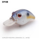 6cm 9g Fishing Lure Eyes 3D Crank Bait Tackle Swim bait fishing japan Hard Crazy Fish Lure Bass