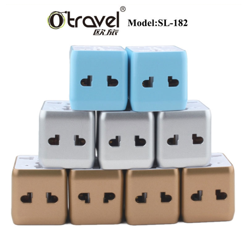 Travelling abroad UK EU US AU plug Universal Travel Adapter, MINI Otravel 13A travel smart adapter plug SL-182