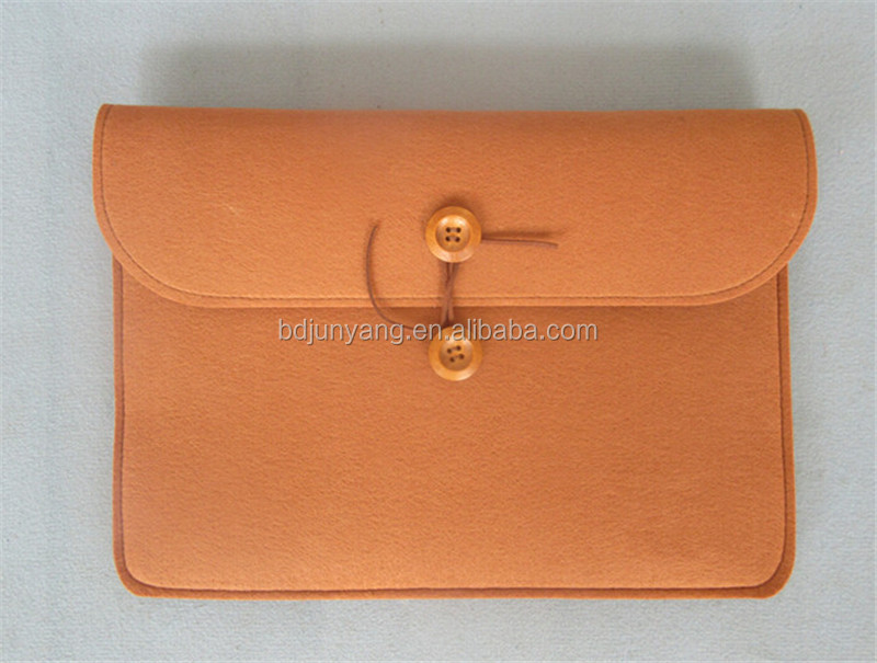 polyester or wool tablet pc felt bag/felt bags/co2 laser marking machine for craft felt bag