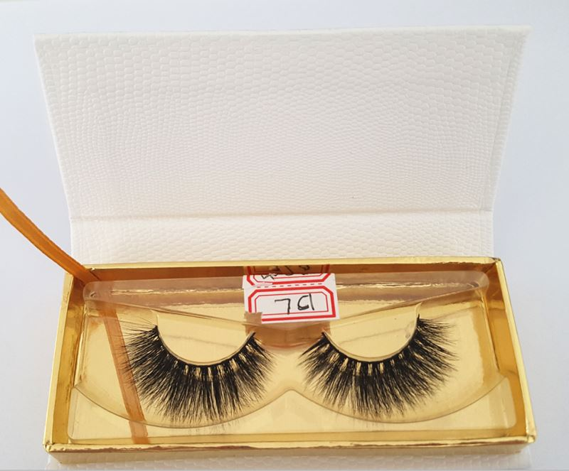 Custom individual eyelash packing box luxury 3d mink eyelashes private label mink lashes