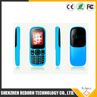 1.8 Inch Screen Quad Band Unlocked Dual SIM MP3 MP4 FM GSM/3G Feature Mobile Phone