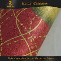 3d textured wallpaper board for decoration with wood panel board