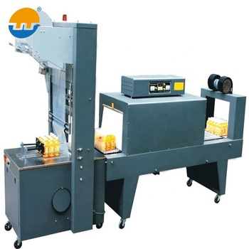 Hot sale semi automatic heat shrink tunnel automatic pouch packing machine for packing line machine