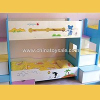 High Quality Carton Theme children bunk bed H82-0020