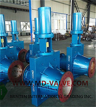 hydraulic pressure Control pinch valves electric pinch valve for mining chemicals