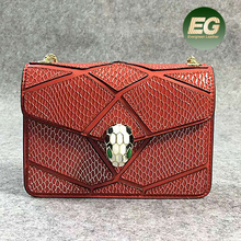 Popular famous brand women shoulder bag top selling genuine leather handbags with chain have 3 sizes EMG5099