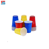 Party Bargains Red Disposable Shot Glasses Plastic Shot Cups
