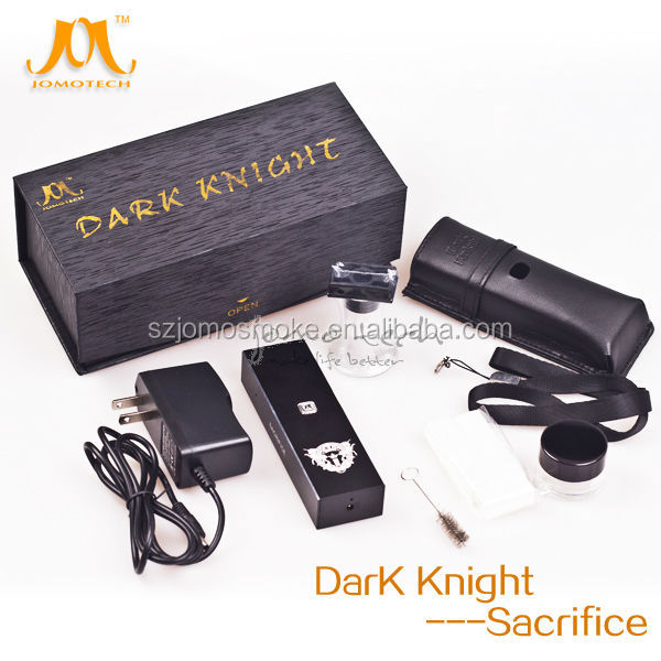 Ceramic heating element vaporizer for dry herb/tobacco from China supplier,in stock dark knight vaporizer