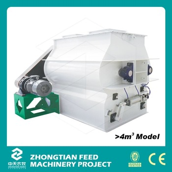 SSHJ Series High Efficiency small animal feed mixer with CE