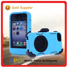 [UPO] for iphone 4 Durable Hybrid pc+ silicon shock proof mobile phone case